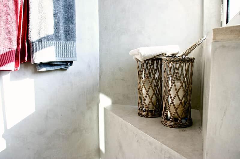 Casas de banho em microcimento, moradia em Vilamoura #11