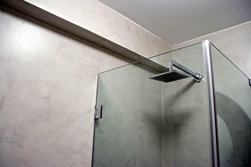 Casas de banho em microcimento, moradia em Vilamoura #13