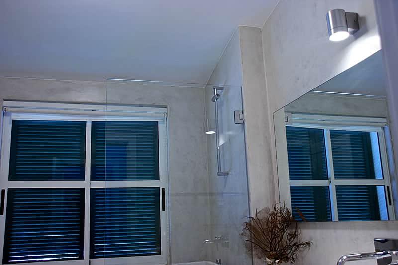 Casas de banho em microcimento, moradia em Vilamoura #4