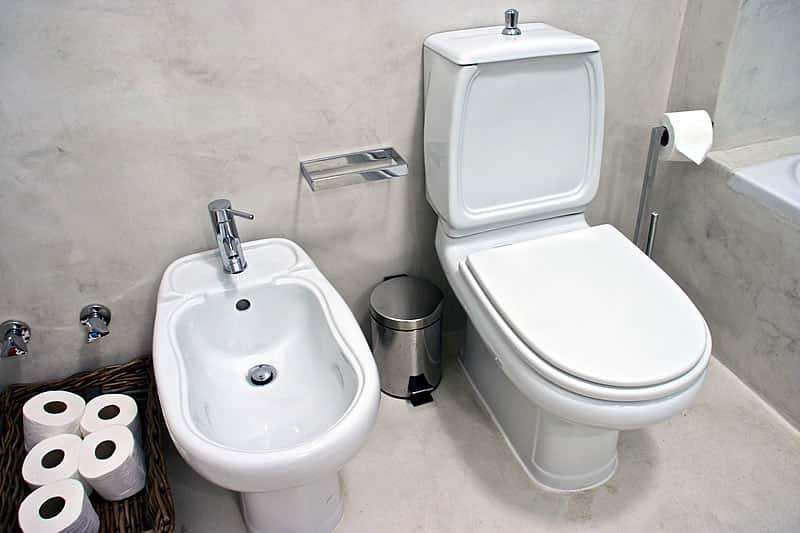 Casas de banho em microcimento, moradia em Vilamoura #3